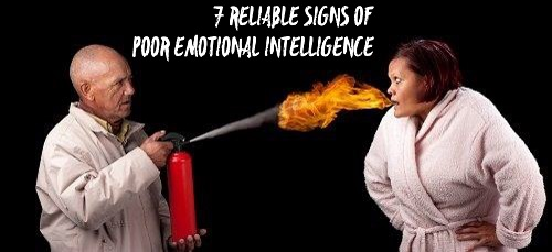 Signs of Low Emotional Intelliegence